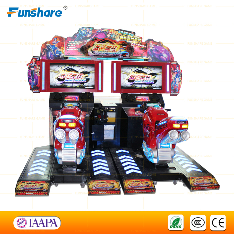 2015 New POP MOTOR Arcade Game, Speed Driver Racing Game Machine, Racing Games Car Games Bike Games