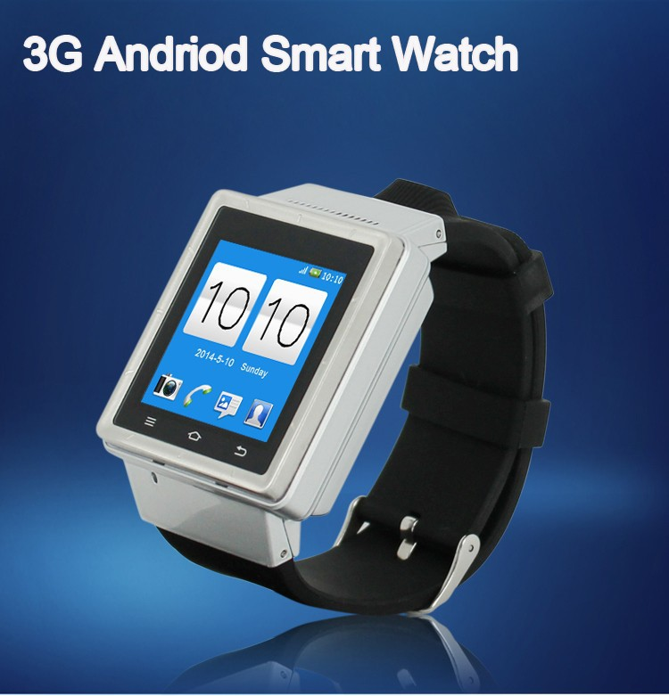 Original 1.54'' Android Watch Phone PGD S6 3G Android 4.4 Smart Watch