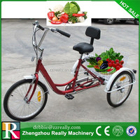 24inch tricycle for sale/2015 cheap coaster brake adult tricycle with basket