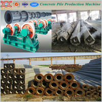 concrete electric pole making machine and equipment