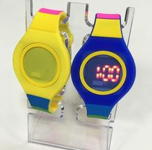 NEW silicone fashion led watch instructions digital watch price
