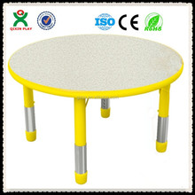 Adjustable height used daycare furniture,used preschool tables and chairs,preschool table