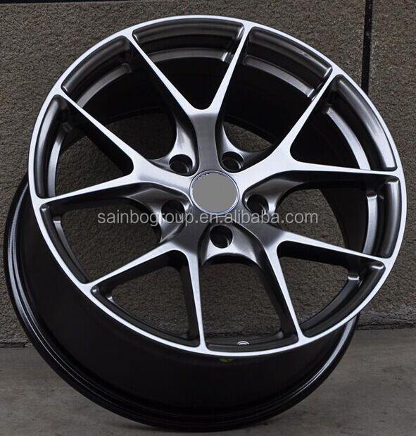 "5-spoke aluminum alloy wheel /rim/felgen/disk/hub for cars 17"" 18"""