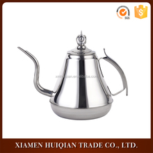 antique arabic stainless steel coffee pot with handle