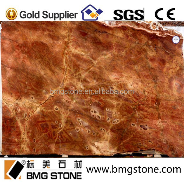 decorative luxury natural Daley Carter red marble stone slab, red marble
