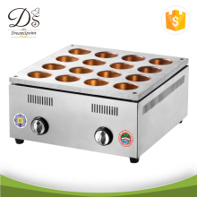 Commercial heating Bean Cake Machine Stainless Steel 16 holes Electric Wheel Pie