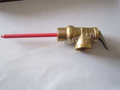 Hot Sale Solar water heater accessories P/T Security Valve