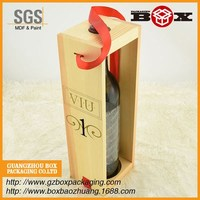 wholesale high quality luxury wooden wine box hot sale