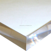 Clear large size pmma plexiglass 100mm cast acrylic glass sheet without lamination