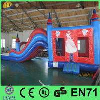 2016 Hot sale inflatable water slide clearance inflatable bouncer & slide for kids and adult