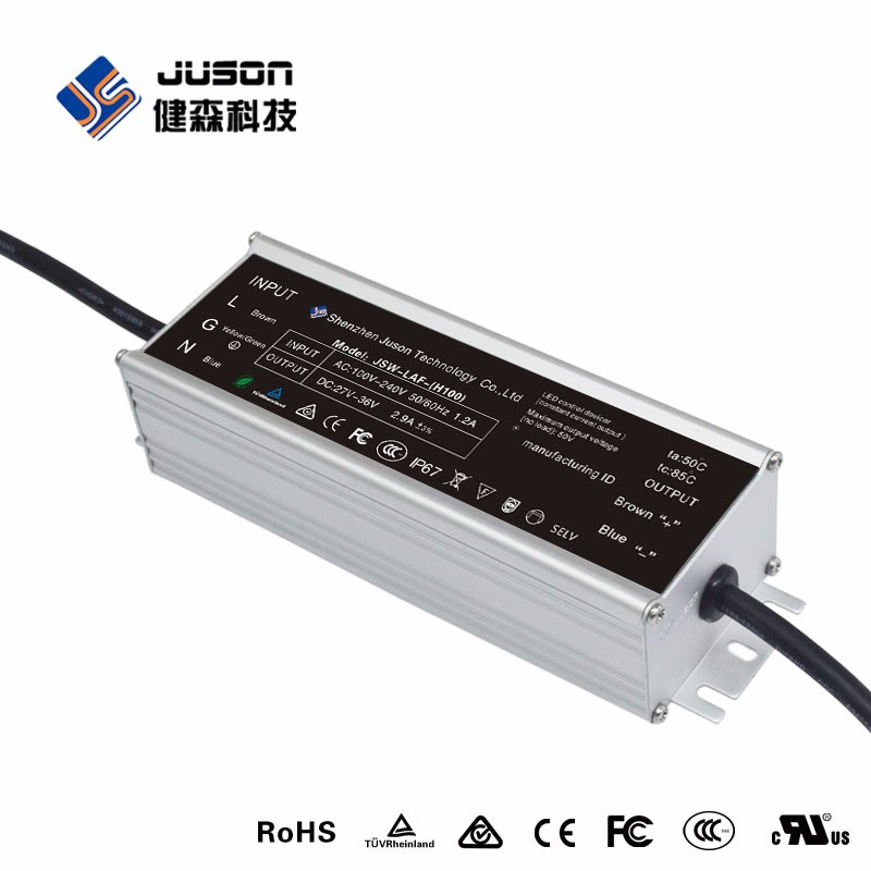 2017 hot selling 80W power transformer constant current led power supply
