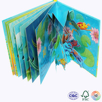 Offset Printing Color Board Book With