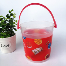 32OZ mini plastic punch drinking bucket with handle to miami usa