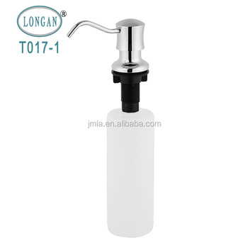 Kitchen copper lotion dispenser for liquid soap