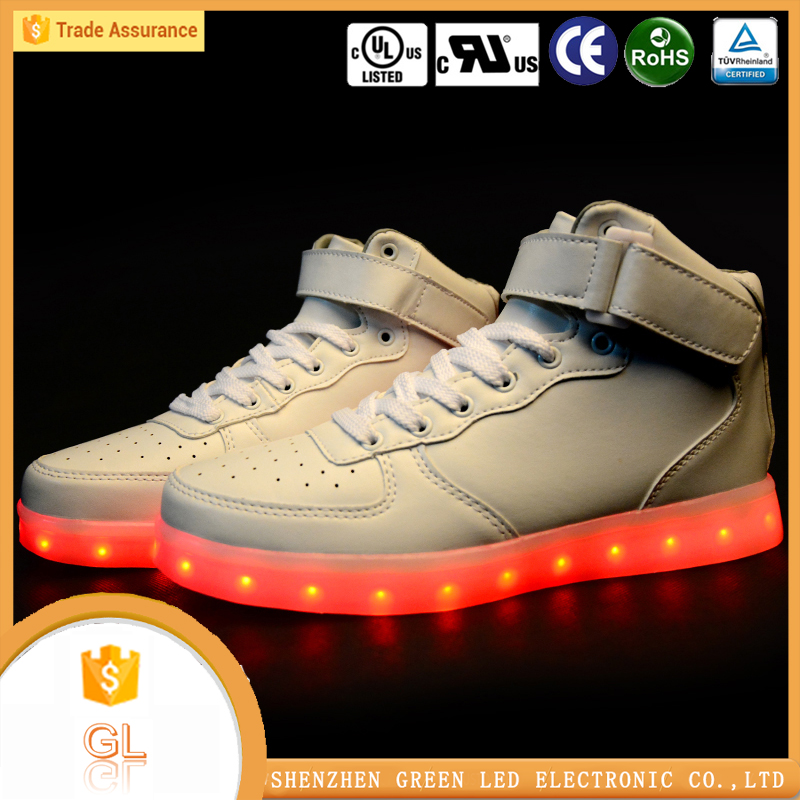 Footwear manufacturers in india hip-hop LED lighting shoes for girl