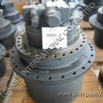 excavator final drive KOBELCO SK200-8 Final Drive, SK200-8 Travel Motor, SK200-8 Hydraulic Track Drive for Excavator