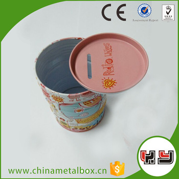 Cute Coin Saving Money Pot/ Money Box /Tin Money Box