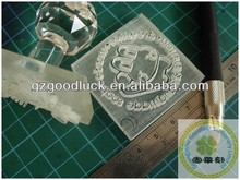 2013 New Style Crystal Soap Stamp Handle With Custom Design