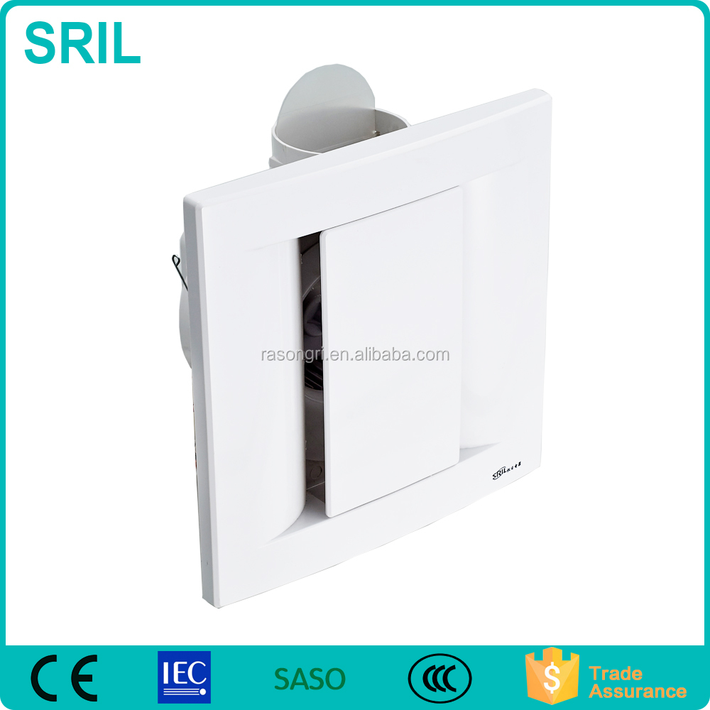 Hot Sales Plastic Ceiling Bathroom Exhaust Fan For Home Use(SRL12H/SRL24H)