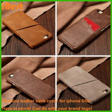 iBest new products 2016 innovative product for iphone 6 leather case 100% genuine leather for iphone 6 case mobile accessory