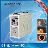 High efficiency 18kw high frequency induction heating copper melting machine