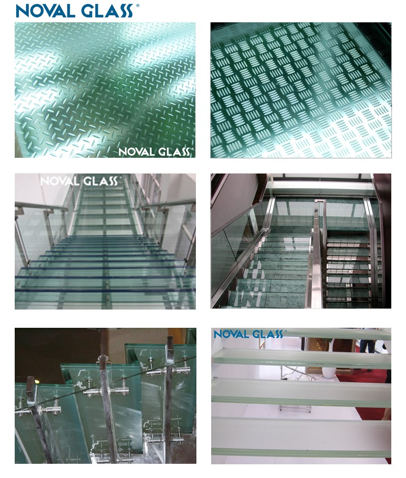 Glass Floor, Anti silp Glass Flooring