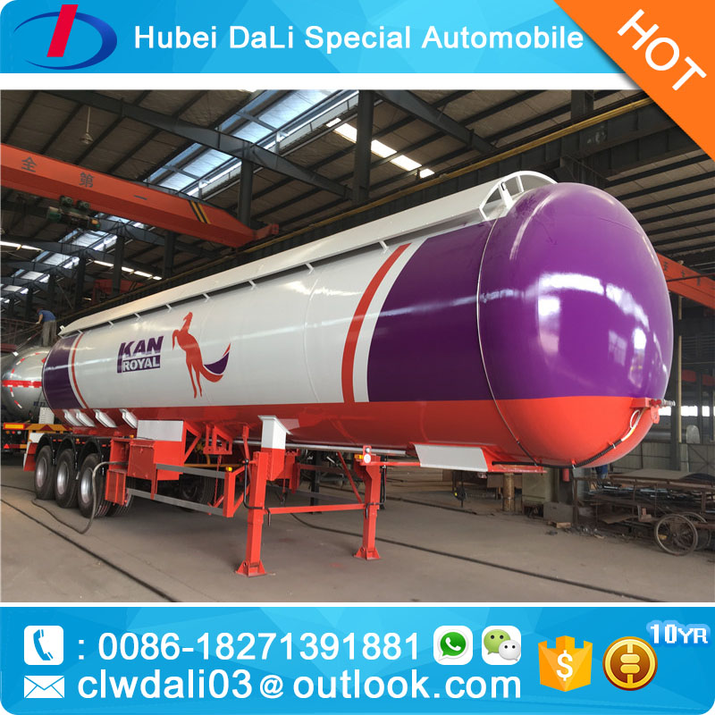 48m3 wholesale price lpg tank semi trailer