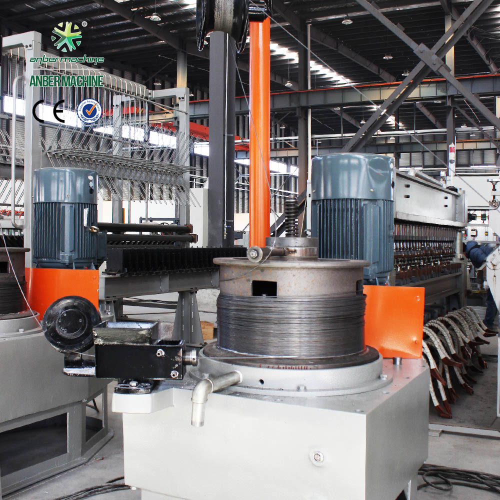 6.5mm Pulley type wire drawing machine continuous line