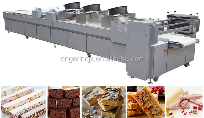High Quality Industrial Sesame Bars Machine for Sale