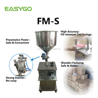 Easygo FM-S Semi Automatic Save Labor Easy Operate Sausage Paste Filling Machine Liquid
