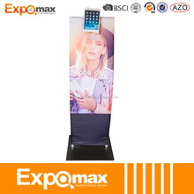 Trade show tension fabric Portable Advertising Floor pad Stand