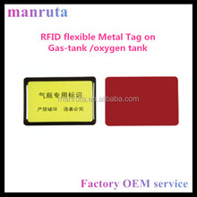 Wave-absorbing anti metal gas cylinder rfid uhf tag for cylinder tracking