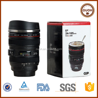 Promotional Wholesale China Top Selling Camera Lens Coffee Cup