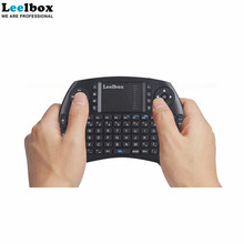 Custom i8 mini size gaming wireless mouse touchpad keyboard combo for tv box laptop computer