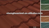 High Quality Stone Coated Metal Roofing Tiles For Fine House