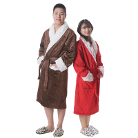 100% Polyester Wholesale Man sexy lingerie sexs bathrobe