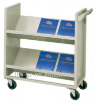 ST-29 Stainless steel library book trolley