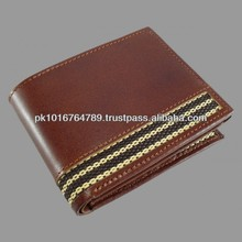 Brown Genuine Leather Wallets Men's New Stylish Design
