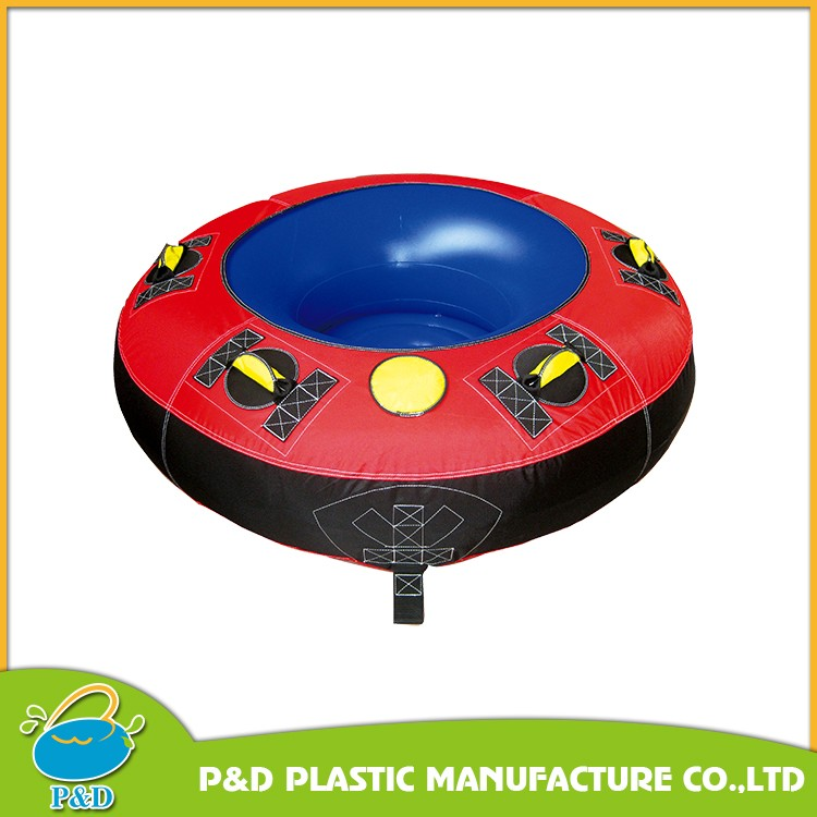 PVC inflatable flying ski tube towable boat tubes EN71 approved