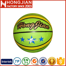 HB002 Size 7 / 6 / 5 / 3 / 2 / 1 # cheap colorful rubber basketball