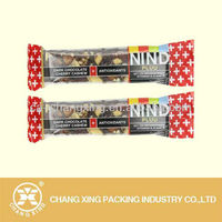 Customize Plastic Energy Bar Packaging Cereal