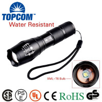 Wholesale G700 High Power Bright Light Portable Zoom Focus Best 10 Watt XML T6 LED Rechargeable Tactical Flashlight