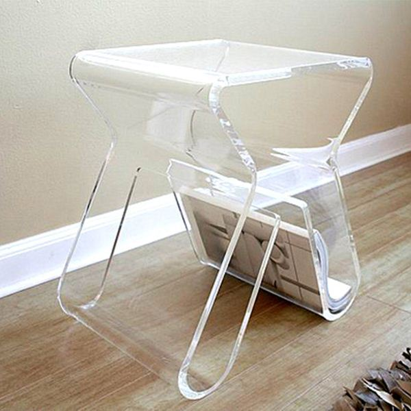 modern simple clear acrylic coffee table,acrylic table furniture