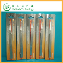 factory price white ceramic tip tweezer from hailindatech