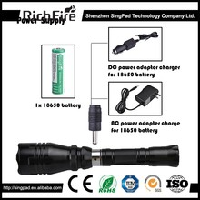 ip66 led hunting flashlights,best gift hunting flashlight,rechargeable waterproof led hunting flashlight