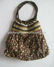 crocheted tote bag for woman