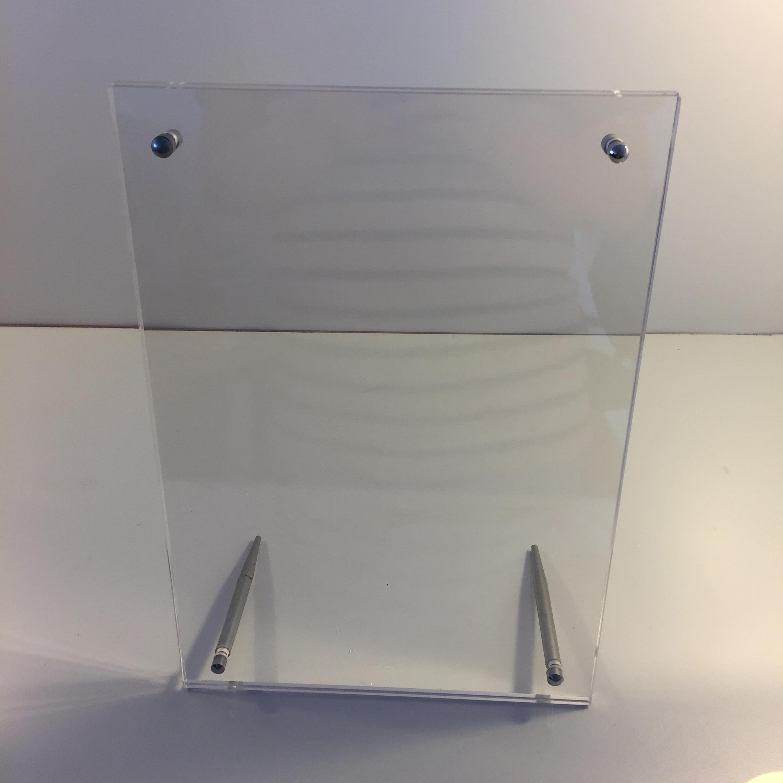 Production Of Crystal Plexiglass Plastic Frame Metal Acrylic Photo ...