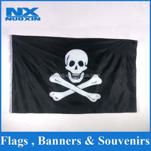 hot sell outdoor wall hanging decoration polyester printed halloween flag