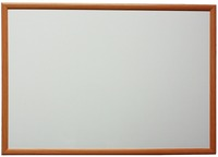 2016 wood frame dry erase magnetic white board