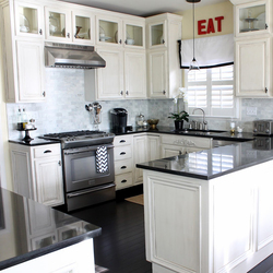 Furniture Wood Custom Kitchen Cabinet Color Combinations